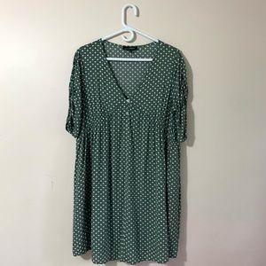 Suzanne Betro Polka Dot Dress